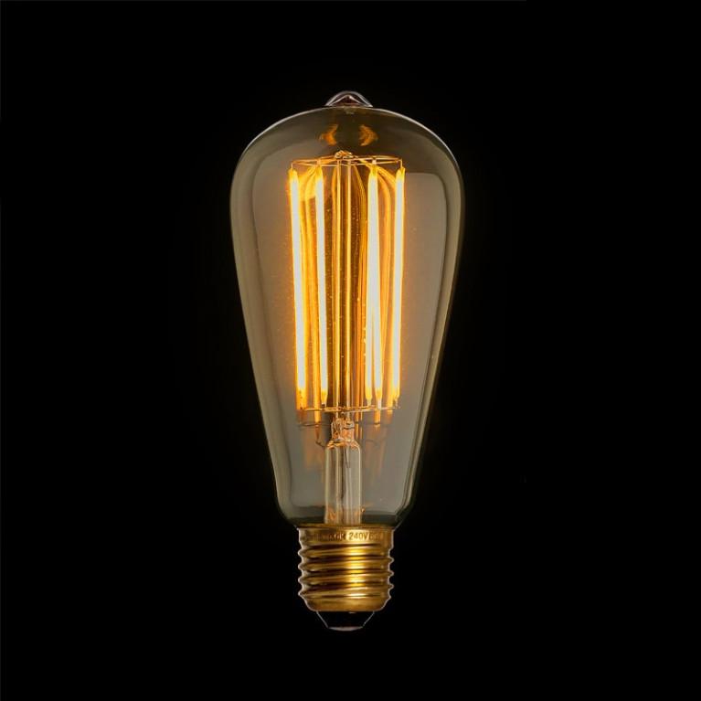 LED Kooldraadlamp Edison Gold E27 4W