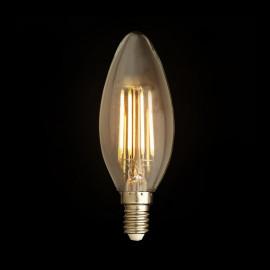 LED Kooldraad Kaarslamp 200lm E14 2W