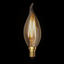 Kaarslamp LED Klassiek Goud E14 3.5W