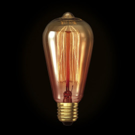 Kooldraadlamp Edison Gold E27 40W