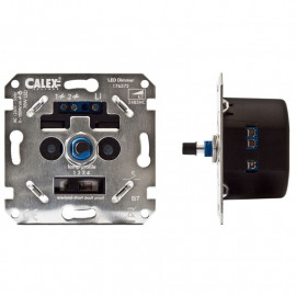 Stekkerdimmer LED 3-70 Watt en Kooldraadlampen 3-150 Watt