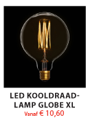 Kooldraadlamp Globe XL
