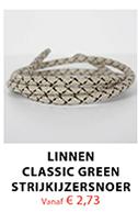 Linnen Classic Green Strijkijzersnoer