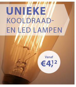 Unieke Kooldraadlampen